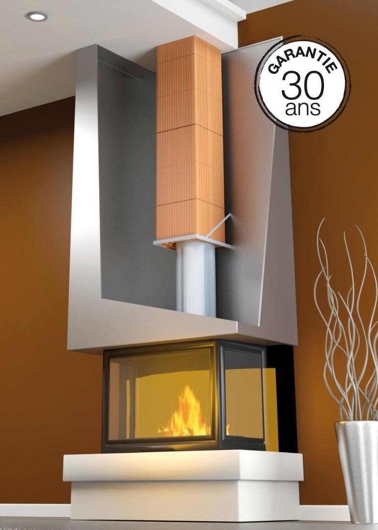 Biobric foyer ferm for Boisseau de cheminee en terre cuite