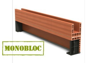 planelle isolante brique monomur et isolation terre cuite bio 39 bric. Black Bedroom Furniture Sets. Home Design Ideas